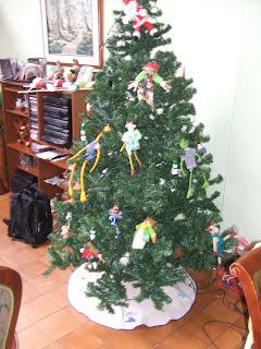 Bordados loream adornos para el arbol de navidad - Adornos navidenos para el arbol ...
