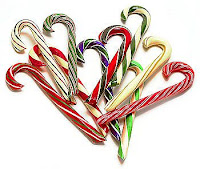 candy cane candies