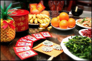 Chinese New Year Dinner Cards