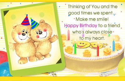Friendship Birthday Cards