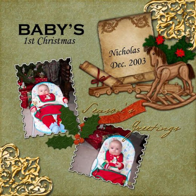 Christmas scrapbook ideas