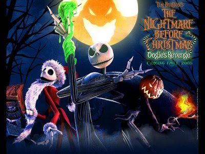 Nightmare before Christmas movie Wallpaper
