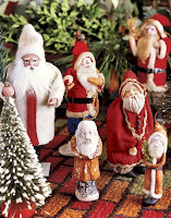 Christmas Santa Figurines