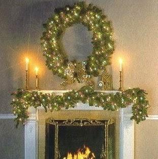 Christmas ideas christmas garland decorations christmas for H h christmas decorations