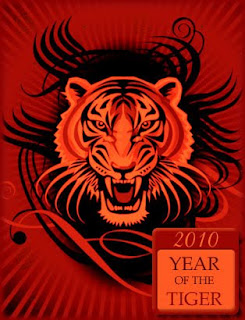 Year of The Tiger Cards