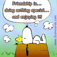 free friendship snoopy card