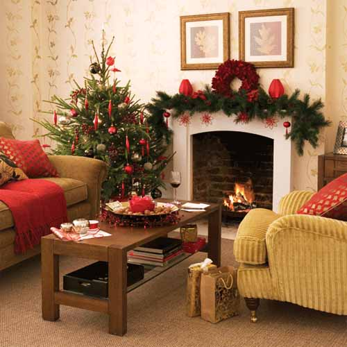Christmas ideas christmas interior decorating ideas for Christmas interior house decorations