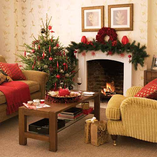 interior christmas decoration pictures