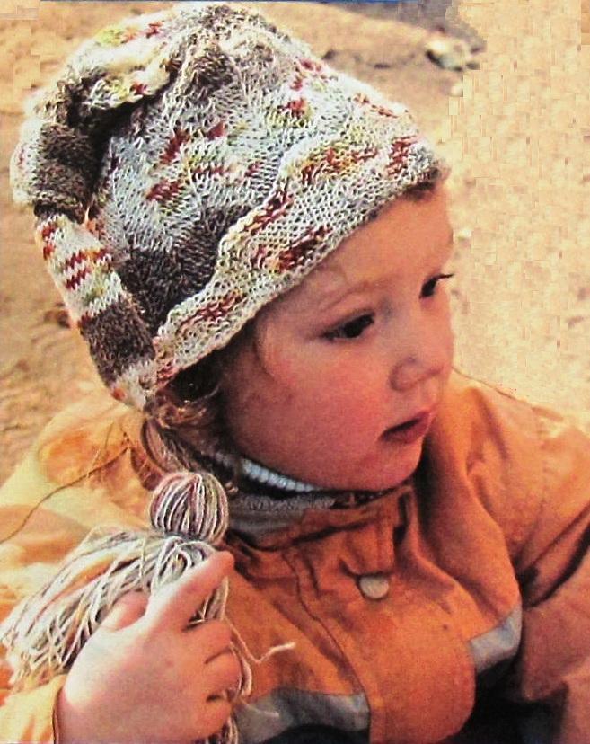 Выкройка детских трикотажных шапочек фото 884