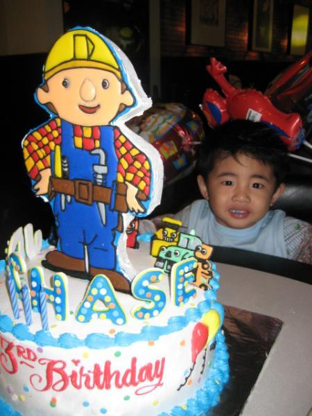 Chase's Bob the Builder Cake