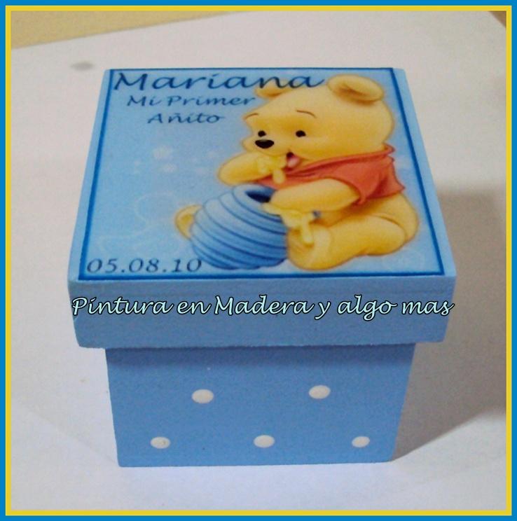 Recuerdos Souvenirs Primer A  O W Pooh