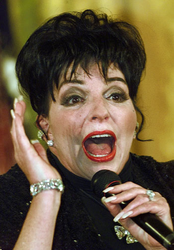 liza minnelli. san francisco. 2010