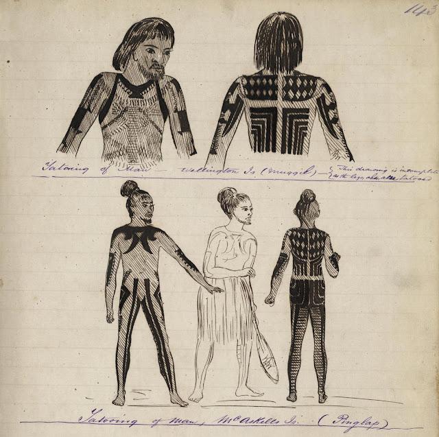 Mwoakilloa and Pingelap Tattoo