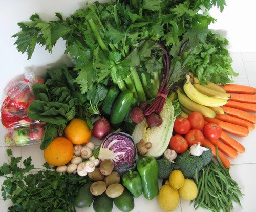 Eating fruits and vegetables may help manage weight