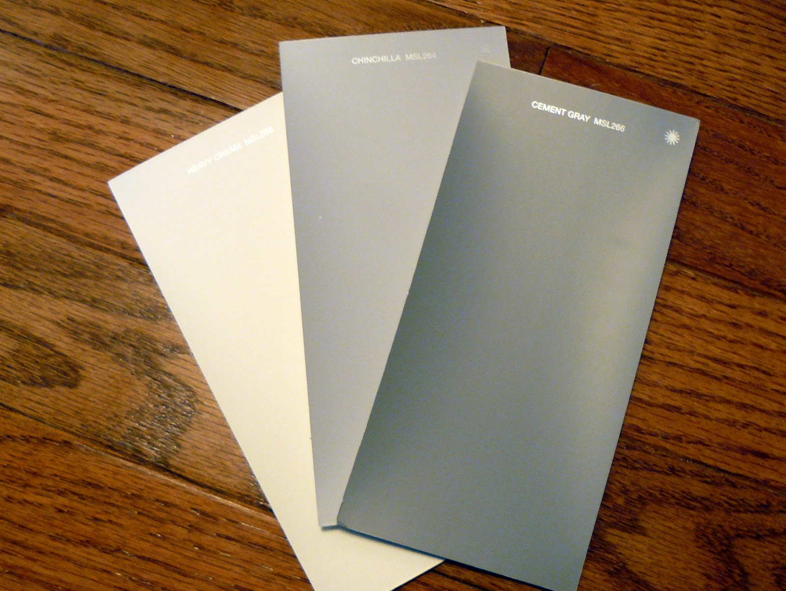 Martha Stewart Cement Gray Paint : I have to it new house color palette