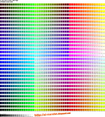 Expanded Color Chart
