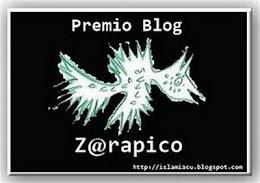PREMIO BLOG Z@RAPICO