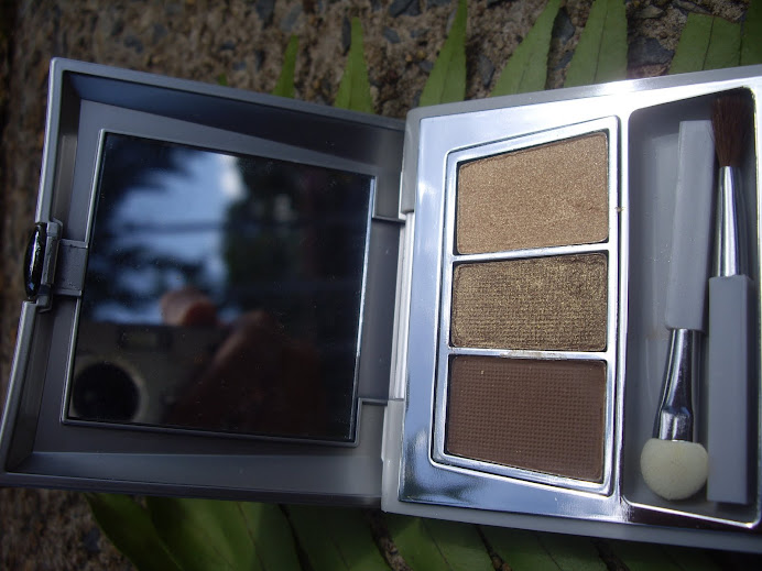 CARING COLORS EYE SHADOW TRIO COMPACT, EARTHLIGHTS