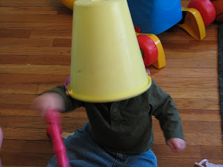 Bucket Head sitting