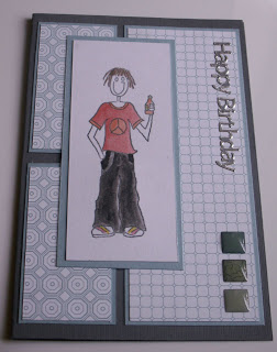 MerryMade Cards and Crafts: Teenager Boy Birthday Card