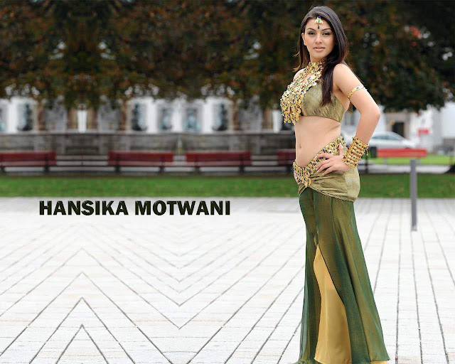 Actress Hansika Motwani Hot Wallpapers