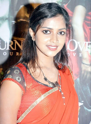actress amalapaul in hot saree photos