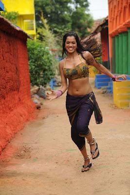 Item Girl Pooja Hot navel show Stills
