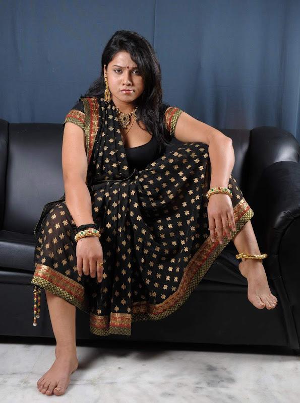 Actress Jyothi Hot Masala Saree Blouse Photos Gallery hot images