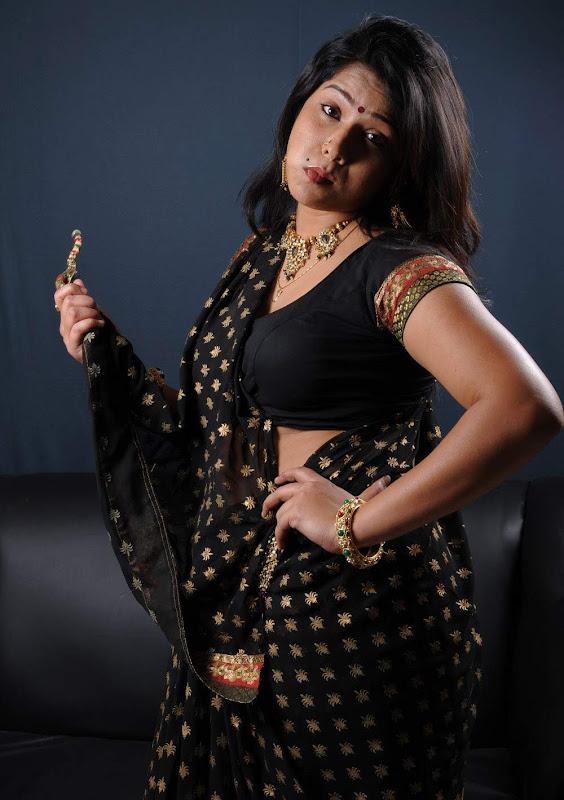 Actress Jyothi Hot Masala Saree Blouse Photos Gallery glamour images