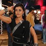 Kausha in Black Saree Photos