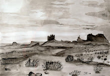 Monument Valley (sepia) (te koop)