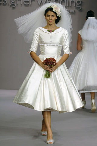 Adorable Gamine: Timeless Classics - Vintage Wedding Gowns