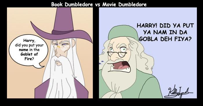 Harry Potter Book Vs Movie : By far my favorite harry potter meme harrypotter