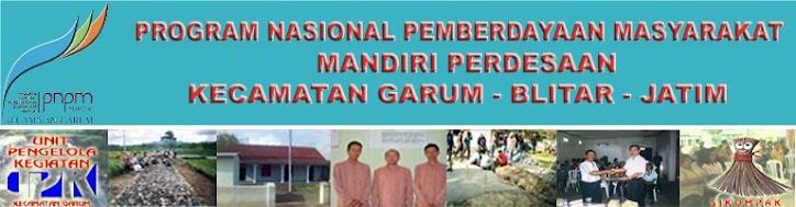 UPK PNPM Mandiri Perdesaan Garum Blitar