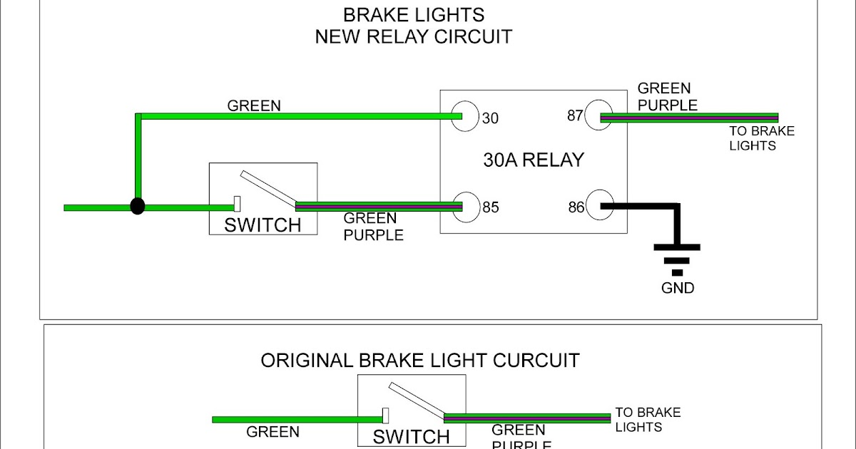 My 1974 Mgb Restoration Project  Relay Wiring Diagrams