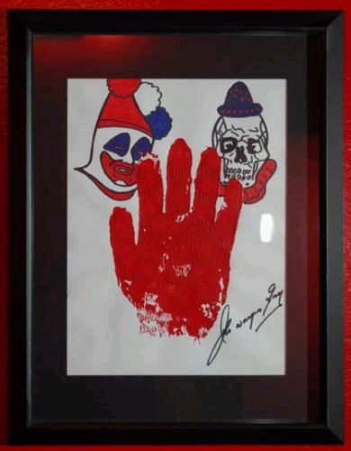 john wayne gacy paintings. Artwork by Serial Killer John