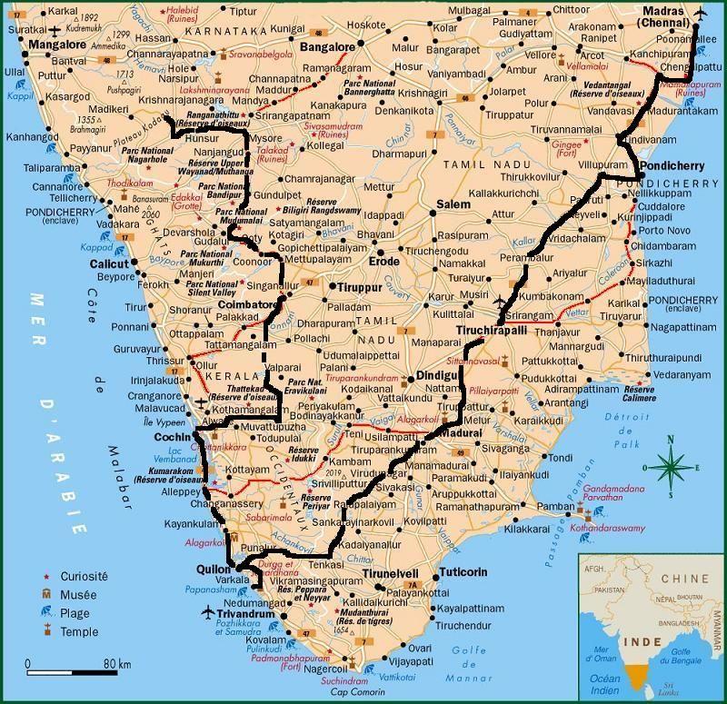 guide du routard inde du sud kerala