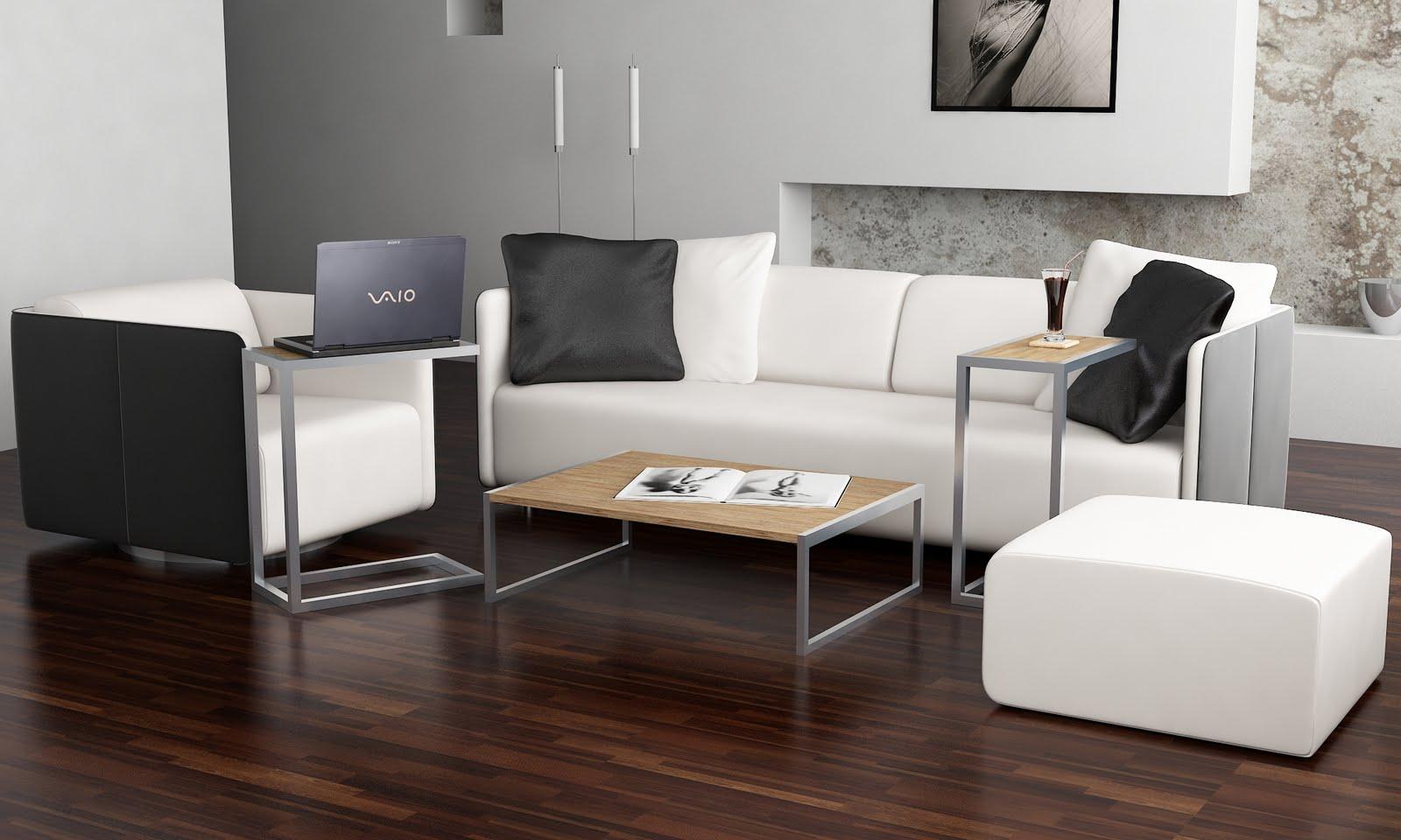 Morphzero design mesa baja para living y mesa alta para for Mesas de living