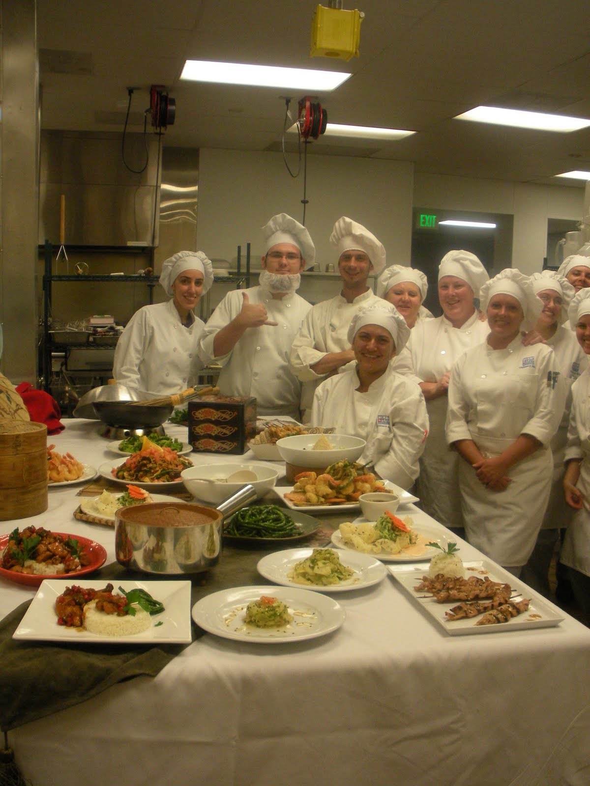 Food ice wine cooking japanese cuisine at school with class for Academy of oriental cuisine