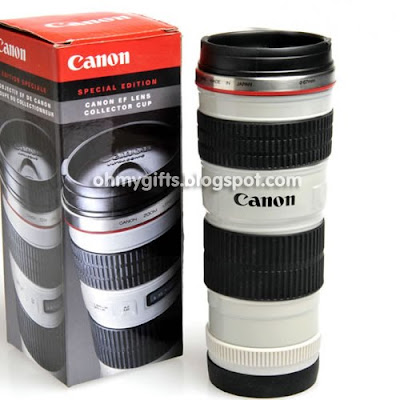 Limited Edition Canon Camera Lens Mug/Coffee Cup