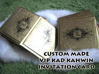 Have a different and special VIP Invitation cards for your VIP persons