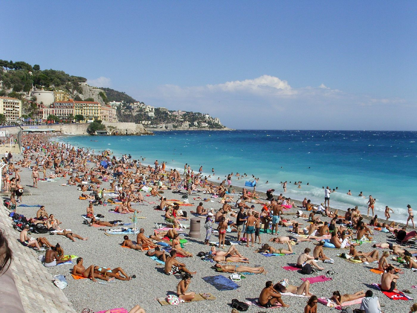 Nice France  city photos gallery : Blue Skies: Nice, France/June 2004