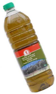 bakken in olijfolie