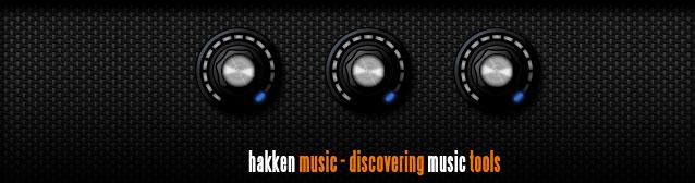 Hakken Music - Discovering music tools
