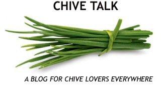 Chive Talk