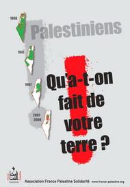 Палестинци, какво се случва със земята ви?
