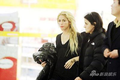 Shakira en china 2011