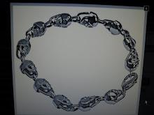 ( 21 )       steinless  bracelets $40.00