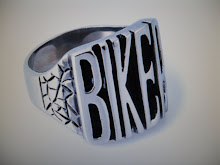 ( 16 )    stainlell steel biker ring $25.00