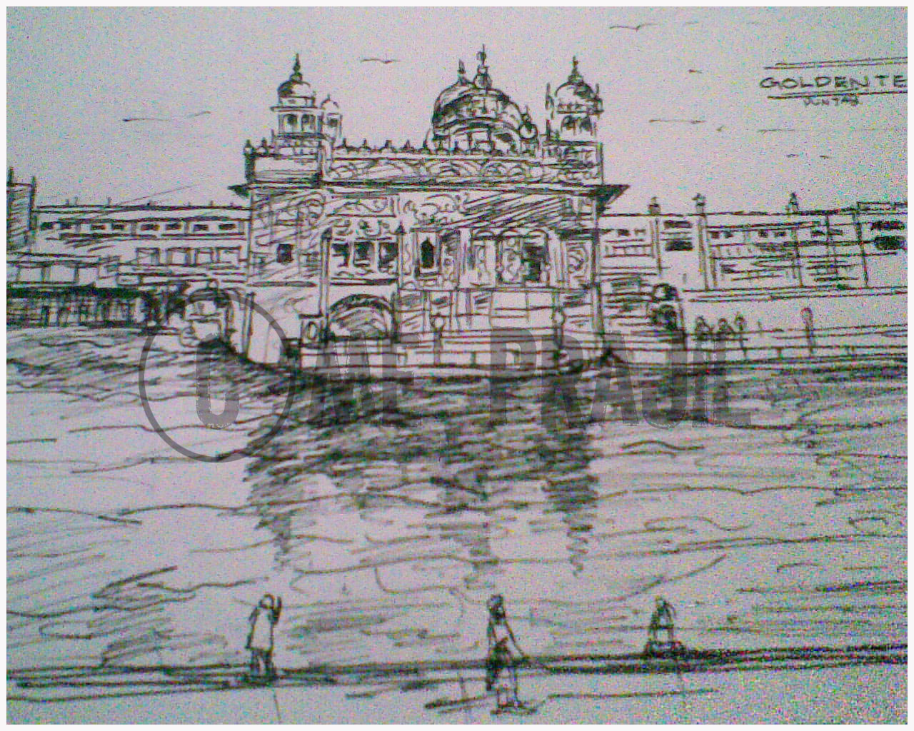 Golden Temple Sketches